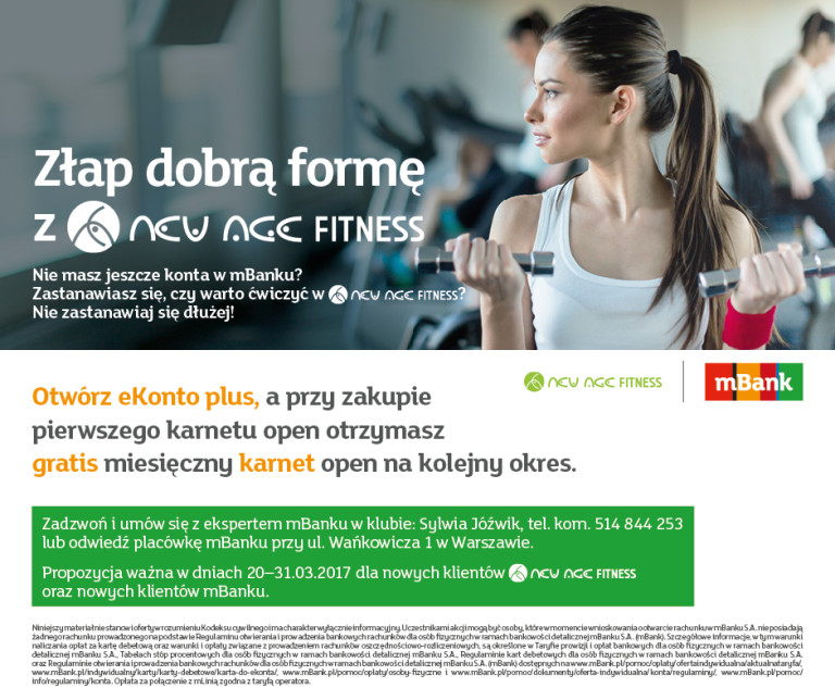 MBank & New Age Fitness